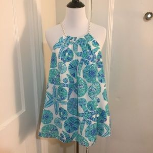 Lilly Pulitzer For Target Sand Dollar Halter Tank
